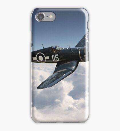 Corsair F4U - Royal Navy iPhone Case/Skin
