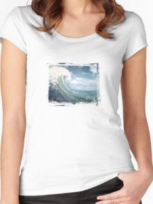 Big Wave Women's Fitted Scoop T-Shirt