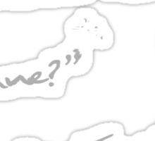 Not In Europe (ver2) Sticker