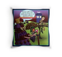 Pure Extermination Throw Pillow