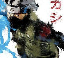 """Sensei"" Splatter Art by KYCollectibles"