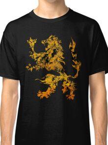 Lion Heraldry Griffin - Heraldic Grungy Classic T-Shirt