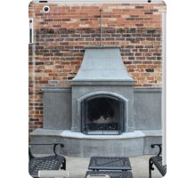 Outdoor Patio With Fireplace iPad Case/Skin