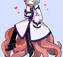 Wadanohara - Octopus Boyfriend by marburusu