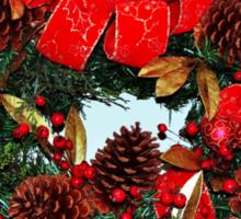 The Christmas Wreath Sticker