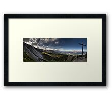 Berg Heil Framed Print