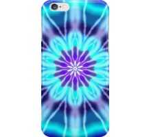 Blue and Purple Tie Dye iPhone Case/Skin