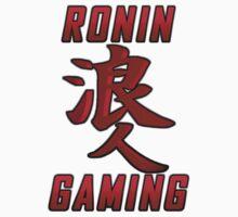 Ronin Gaming Logo (tall) One Piece - Short Sleeve