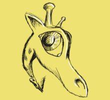 A giraffe called Skinny by Michael Alesich