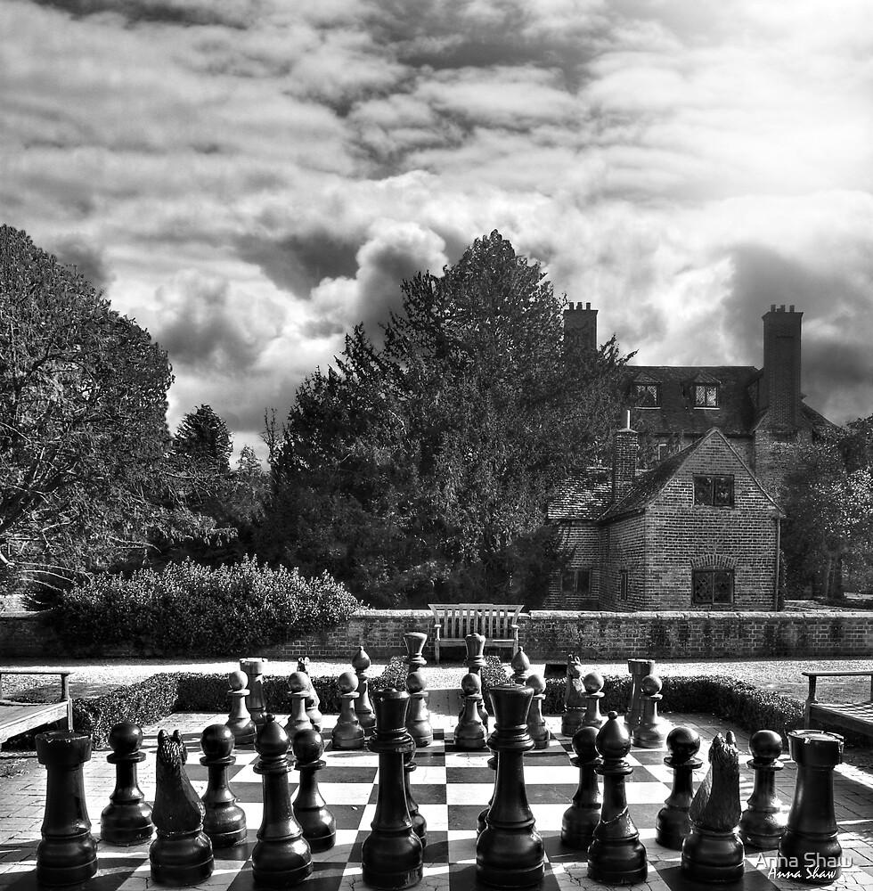 Groomsbridge Park B/W by Anna Shaw