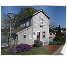 The Historic Old Wharf Cottage Poster