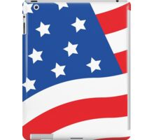 Made in USA flag american hero patriot factory business work iPad Case/Skin