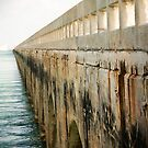 Bridge towards Key West by Olav Lunde