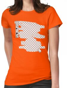 Invisible Womens Fitted T-Shirt
