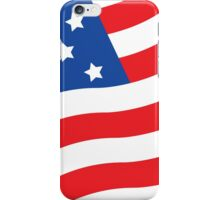 Made in USA flag american hero patriot factory business work iPhone Case/Skin