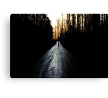 The Righteous Path Canvas Print