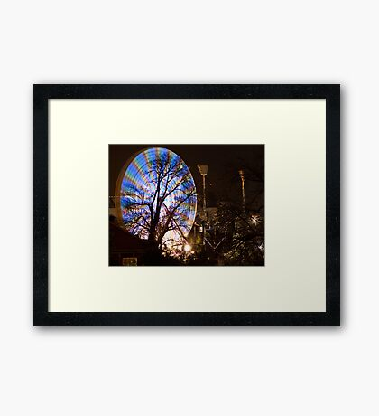 """Fed^2  """"It's a Circus if you look close up"""" Framed Print"""