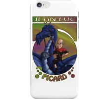 Jean-Luc Picard and the Dragon iPhone Case/Skin