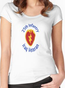 25th Infantry - Iraq Veteran Women's Fitted Scoop T-Shirt