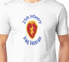25th Infantry - Iraq Veteran Unisex T-Shirt