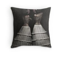 The Insomnia Twins Throw Pillow