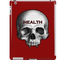 HEALTH GOTH.  iPad Case/Skin