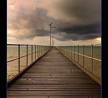 Fowlers Bay Jetty by Robert-Irvine