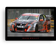 Rick Kelly Canvas Print
