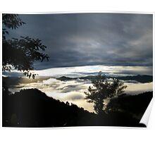 Morning Glory  : Mizoram, India Poster