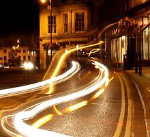 Night lights of Cheltenham by Lynn Ede