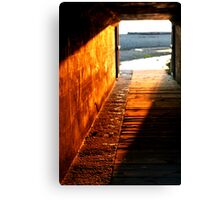 Footsteps To Serenity Canvas Print
