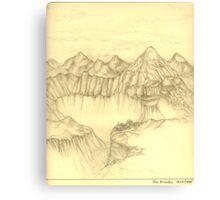 Landscape 1981 Canvas Print