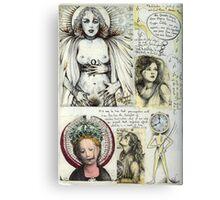 Sketchbook #1 Canvas Print
