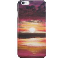 Fiery Sunset iPhone Case/Skin