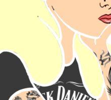 Swag Indie Hipster Alice in Wonderland Disney JD Hindu Smoking Sticker