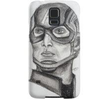 Charcoal Cap Samsung Galaxy Case/Skin