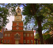Historic Independence Photographic Print