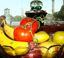 Fruit Anyone? by Wanda Raines