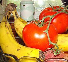 A Closer Look.  Fruit Anyone? by Wanda Raines