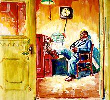 The Doorman by Emma Jean Chu