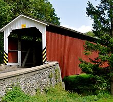Neff's Mill / Pequea 7 Covered Bridge by Monte Morton