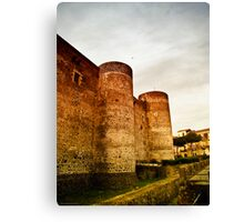 Memories of the Norman period Canvas Print