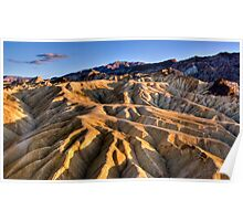 Death Valley, Zabriskie Point, CA Poster