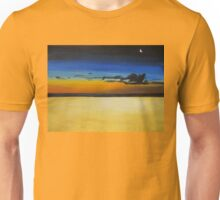 On the Beach at Night Unisex T-Shirt