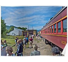 """Engine Move At Bartlett"" - Conway Scenic RR Series - © 2009 SEP Poster"