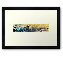 360 Degrees NW - Surf Art Framed Print
