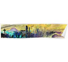 360 Degrees NW - Surf Art Poster