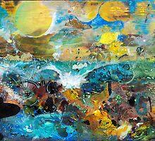 Mad Man Comin' - Surf Art by nathangibbs