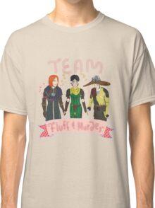 """Team """"Fluff and Murder"""" Classic T-Shirt"""