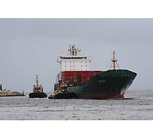 Freighter docking in Fremantle, Western Australia Photographic Print